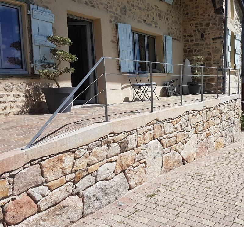 Fabrication de pare-vue extérieur en métal Villefranche ...